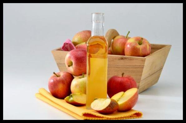 Aplicar Vinagre de Manzana